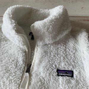 Patagonia Los Gatos white vest